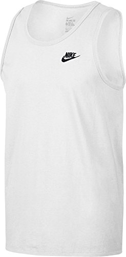 NIKE Men's EMBRD Sleeveless T-Shirt (Large, ()