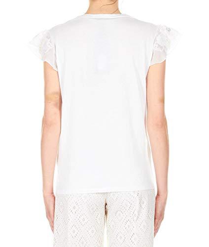 Blanco Twin 191tt215000001 T Mujer set Algodon shirt vqtnrqBx