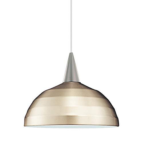 WAC Lighting PLD-F4-404BN/BN Felis 1 Light Canopy Pendant, Halogen Lamp, Brushed Nickel