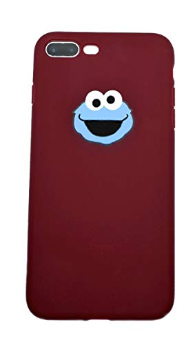 Cartoon Character, Monster, Cute, Animal, Fun iPhone Case |Stylish, Adorable, Hype, Street, Cookie | for iPhone 7/8, iPhone 7 Plus/8 Plus, iPhone X/XS, iPhone Xs Max, iPhone XR (iPhone 7/8 Plus)