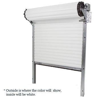 Model 650 [8' (w) x 8' (h)] Light Duty Rolling Self Storage Steel Roll Up Door (6 X 6 Roll Up Garage Door)