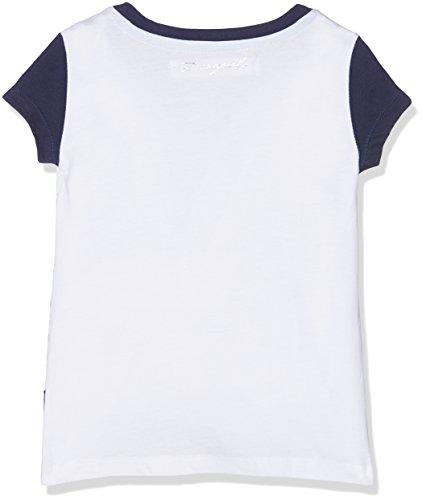 1000 blanco Blanc Fille Imprimé shirt Phoenix Desigual T x4gwq60R0B