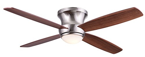 Wind River Zorion 52 Nickel Contemporary Ceiling Fan
