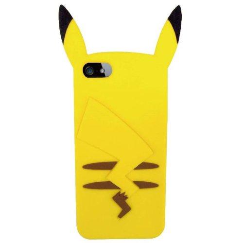 finest selection 664d9 a704e Pokémon iPhone 5/5s Case Pikachu Silicon Jacket POKE-506A
