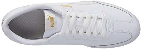 Sneaker Puma Uomo Astro Cup In Pelle Puma Bianco-puma Bianco