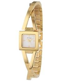 Titan Women's 9852YM01 Work Wear Classic Watch
