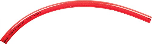 Helix Racing Products Braid Fuel Line Red 3Ft 5/16