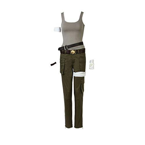 CosplayDiy Women's Suit for Tomb Raider Lara Croft Cosplay (M, -