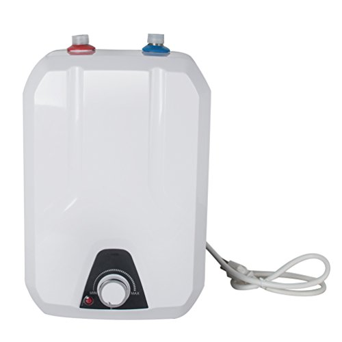 Funwill Electric Mini-Tank Water Heater Household Kitchen Electrical Hot Water 2-Gallon (USA Shipping) ()