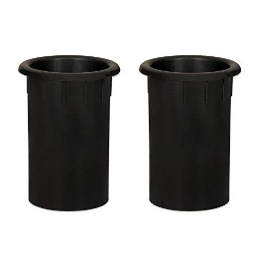 - Goldwood Speaker Box Bass Air Ports 2 Speaker Port Tubes Black (PT-305-2)