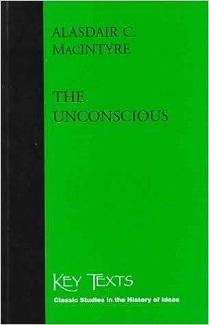 The Unconscious: A Conceptual Analysis
