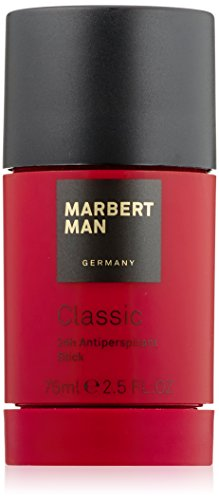Marbert Classic homme/man, 24 Hour Antiperspirant Stick, 1er Pack (1 x 75 ml)