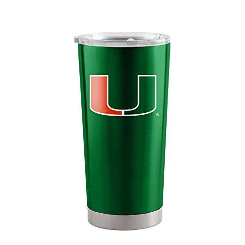 NCAA Miami Hurricanes Ultra Tumbler, (Miami Hurricanes Travel Tumbler)