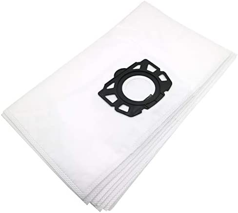 WuYan 6pcs Replacement Filter Bags for Karcher MV4 MV5 MV6 WD4 WD5 WD6, Compatible with Karcher WD4000 to WD5999