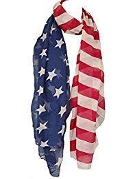 American Flag Scarf (YX53)