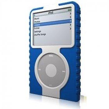XtremeMac IPV-TA3-20 Tuffwrap Accent for iPod Video 30GB (Blue/White)