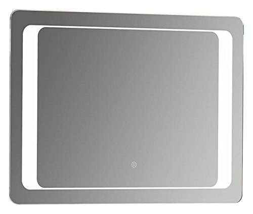 "SUNNY SHOWER Backlit Led Bathroom Vanity Sink Silvered 4mm Mirror With Touch Button, 32"" L X 24"" W by SUNNY SHOWER"