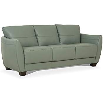 Amazon.com: Acme Furniture Malaga Sofá, Metal Madera Espuma ...