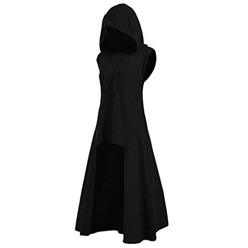 Toimothcn Women Halloween Cosplay Costume Vintage Sleeveless