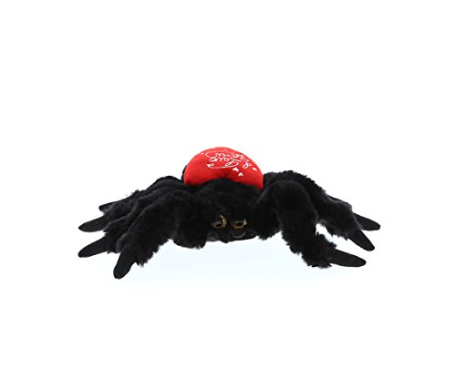 (DolliBu Black Spider I Love You Valentines Stuffed Animal - Heart Message - 7 inch - Wedding, Anniversary, Date Night, Long Distance, Get Well Gift for Her, Him, Kids - Super Soft Plush)