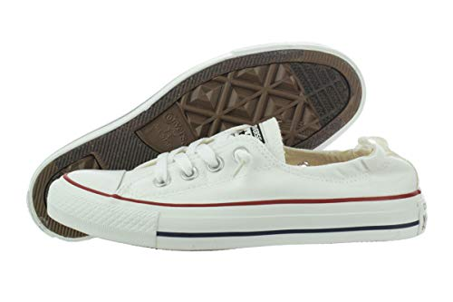 Converse Chuck Taylor All Star Shoreline White Lace-Up Sneaker - 9 B - Medium ()