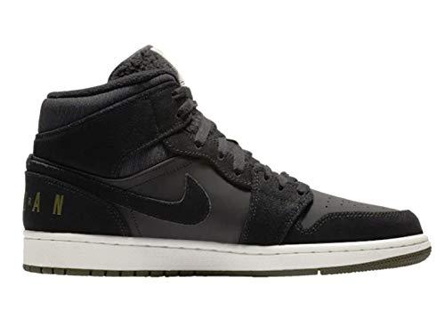 Nike Jordan Men's AJ 1 Mid SE Leather Basketball Shoes