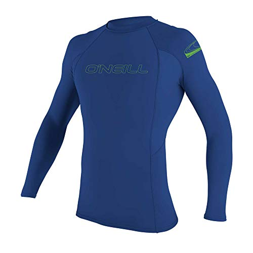 O'Neill Youth Basic Skins UPF 50+ Long Sleeve Rash Guard
