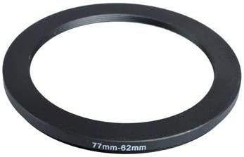 77mm-62mm 77-62 mm 77 to 62 Step Down Ring Filter Adapter