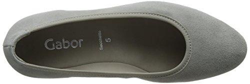 Grau Basic Gris Shoes Gabor Femme weiss S Gabor Escarpins S6Y1q