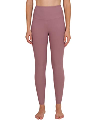 c1e6b896528464 90 Degree By Reflex - High Waist Power Flex Legging – Tummy Control - Mauve  Shadows
