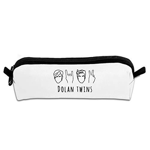 Pencil Case, Dolan Twins Logo Pencil Pen Case Pouch Box School Organizer Makeup Cosmetic -