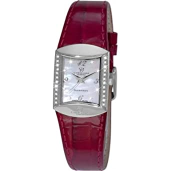Christina London Damen-Armbanduhr Analog Quarz Leder 126SWR