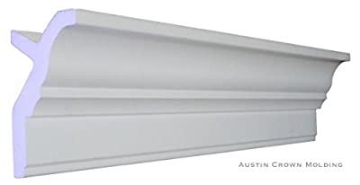 "64 Ft of 3.5"" Angelo Foam Crown Molding room kit W/precut corners on end of lengths 4 inside & 1 out (AVAILABLE IN 5 OTHER STYLES AND QUANTITIES-SEE OUR OTHER LISTINGS) Sold By Austin Crown Molding"