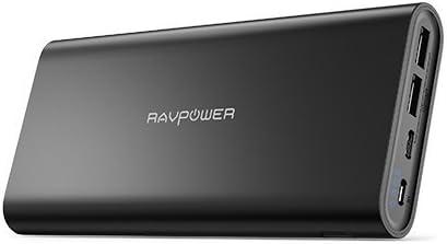 Amazon.com: RAVPower - Cargador portátil USB C (26800 mAh ...