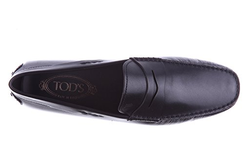 Tod's mocassins homme en cuir city gommino noir