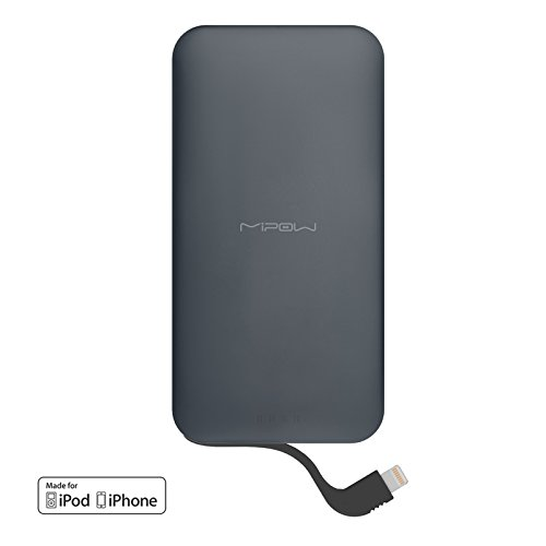 MiPow 5000mAh Portable Charge for Mobile Phones and Tablets - Grey