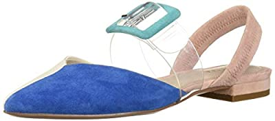 Cecelia New York Women's Deacon Shoe-Pool Blue
