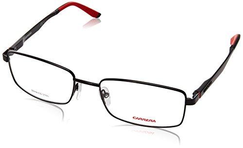 Carrera 8812 Eyeglass Frames CA8812-0006-5518 - Shiny Black Frame Lens Diameter 55mm Distance