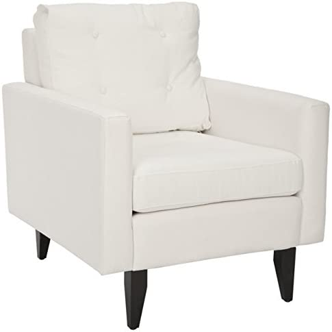 Safavieh Mercer Collection Curtis White Club Chair