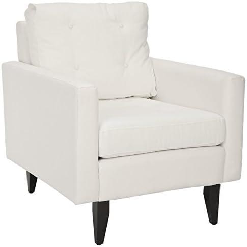 Safavieh Mercer Collection Curtis White Club Chair
