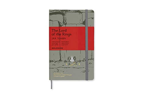Moleskine Limited Edition Notebook Lord Of The Rings, Large,