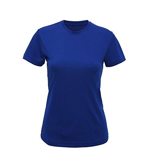 Tri Dri - Camiseta de manga corta modelo Performance para mujer (Extra Grande (XL)/Azul )