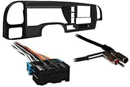 Metra DP-3003 Double DIN Dash Kit Combo for Select 95-01 GM Full Size Trucks/SUV