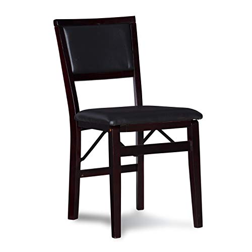 Linon Keira Pad Folding Chair, Set of 2