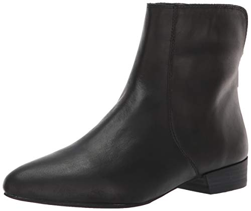 Lucky Brand Women's LK-GLANSHI Ankle Boot, Black, 8.5 M US