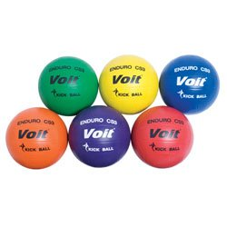 Voit Enduro CS3 Kickball (Set of 6) by Voit