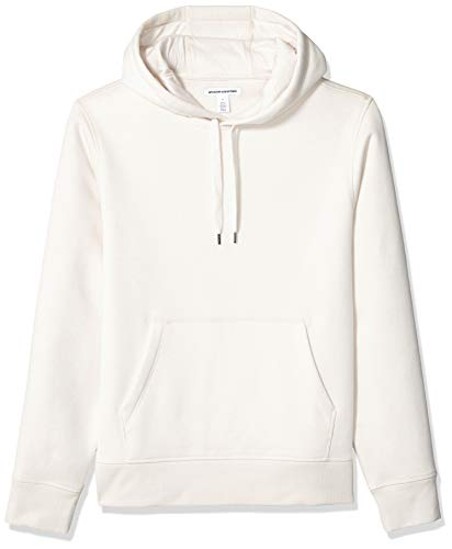 - Amazon Essentials Men's Standard Hooded Fleece Sweatshirt, Oatmeal Heather, X-Small