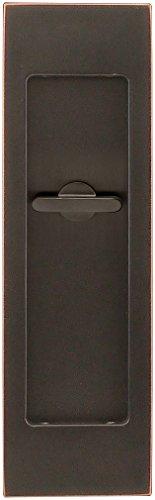 INOX FH2782-10B PD Series Pocket Linear Flush Pull with TT08 Thumb Turn, Oil Rubbed Bronze ()