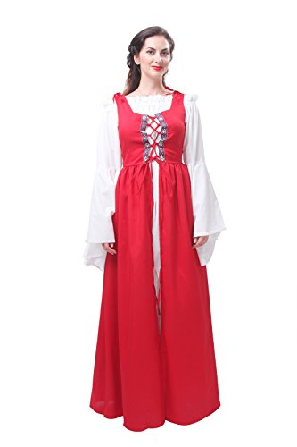 Gc204c Femmes Costumes traditionnels Dguisements robe ni medieval Halloween nnCqwAUY
