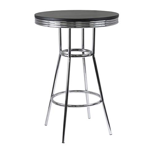 Winsome Wood 93030 Summit Dining, Black ()
